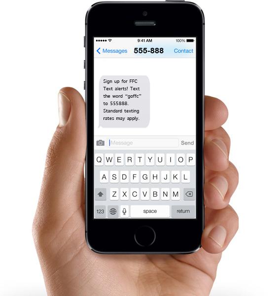 FFC Text Alerts